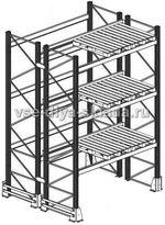 Паллетные стеллажи конструкция